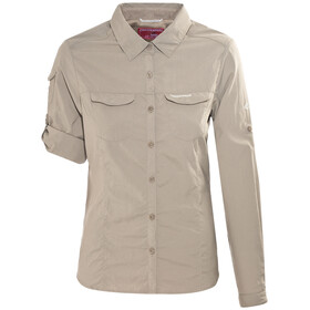 Craghoppers NosiLife Adventure Longsleeve Shirt Women beige